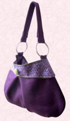 Emma Gordon Collection - purple bag.